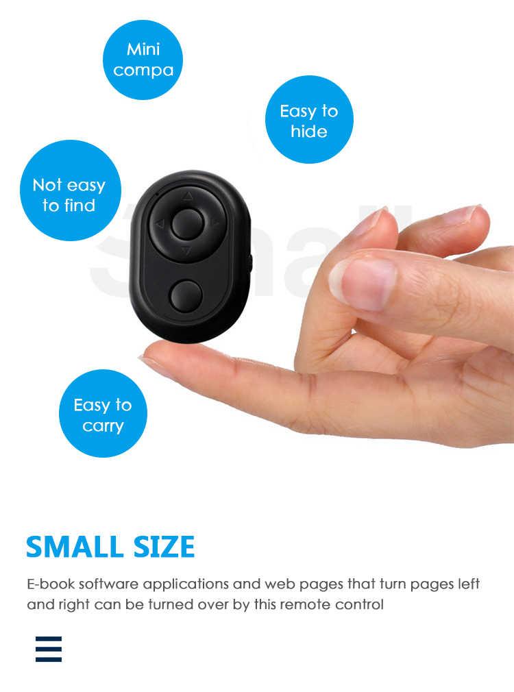 Bluetooth Remote Control Tombol Kontroler Nirkabel Self-Timer Kamera Stick Rana Rilis Ponsel Monopod Selfie untuk IOS Android
