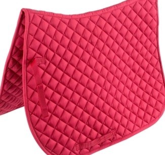 Купить с кэшбэком Racing Horse Saddle Pads Dressage soft Saddle Pad Horse Riding Equipment  Saddle Equestrian Equipment  For A Horse C