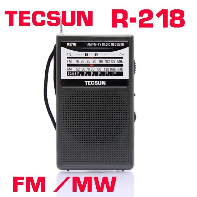 Անվճար առաքում TECSUN R-218 AM / FM / TV - Դյուրակիր աուդիո և վիդեո - Լուսանկար 2