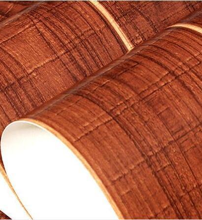 Us 343 30 Offbeibehang Roll Hangat Sederhana Dari Lantai Kayu Vinyl Panel 3d Wallpaper Untuk Dinding Ruang Tamu Meliputi Kertas Dinding Den Tv
