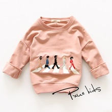 цена на New 2016 brand Children Hoodies Sweatshirt baby Boy girls Spring Autumn Coat Kids Long Sleeve Casual Outwear Baby Clothing