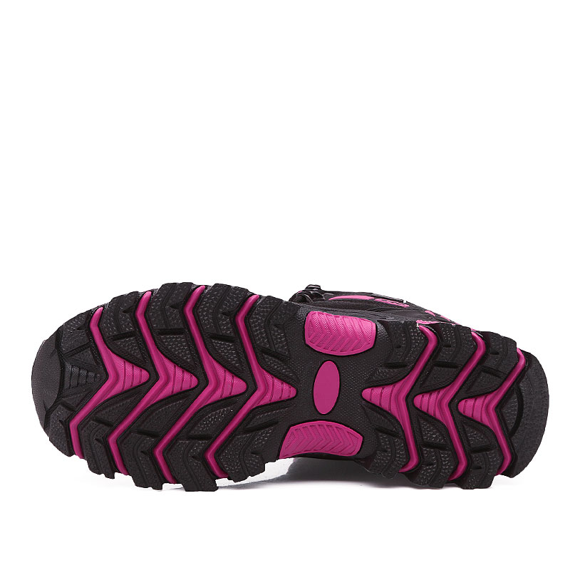 Image 3 - Winter Outdoor hiking shoes women waterproof non slip climb mountain trekking mujer Unisex Walking shoes warm men size 35 45Hiking Shoes   -