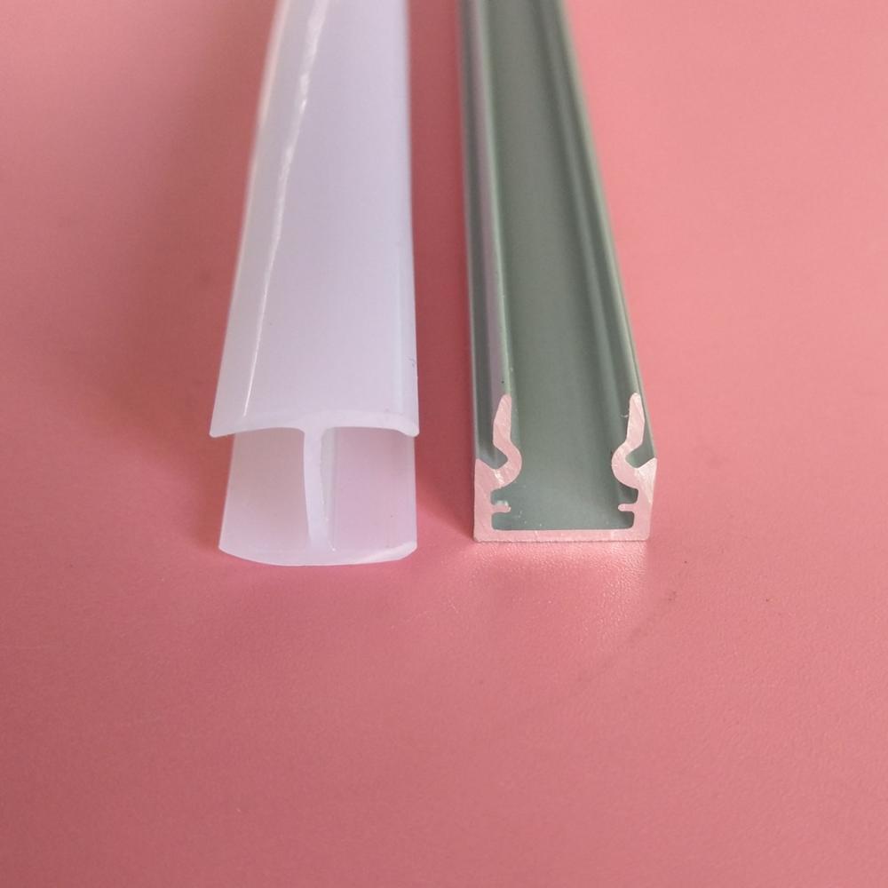 o envio gratuito de aluminio do revestimento do po perfil do canal para a janela ea