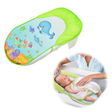 New Collapsible baby bath bed tub chair towels Safe and comfortable for