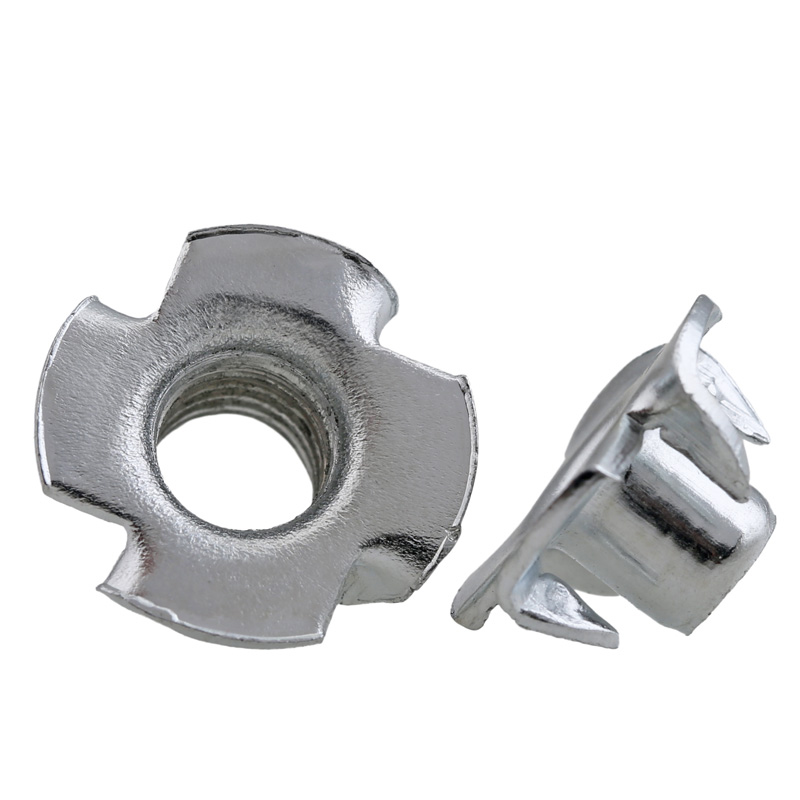 M4 M5 M6 M8 M10 T-nut Metric Threaded Zinc Plated Inserts Blind Pronged Speaker Tee Nuts four Claws Nut Wood Furniture HardwareM4 M5 M6 M8 M10 T-nut Metric Threaded Zinc Plated Inserts Blind Pronged Speaker Tee Nuts four Claws Nut Wood Furniture Hardware