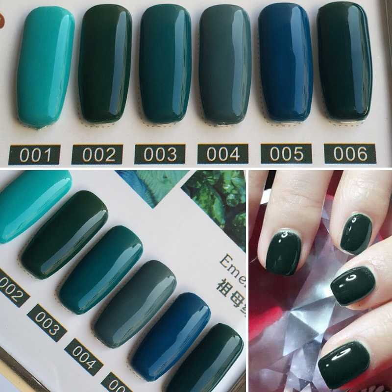 Detail Feedback Questions about YIFEI 10ML Emerald Green Nail Gel ...