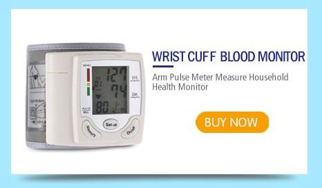 Health Care Automatic Digital Wrist Cuff Blood Pressure Monitor Heart Beat Rate Arm Pulse Meter Machine Tonometer For Measuring 5