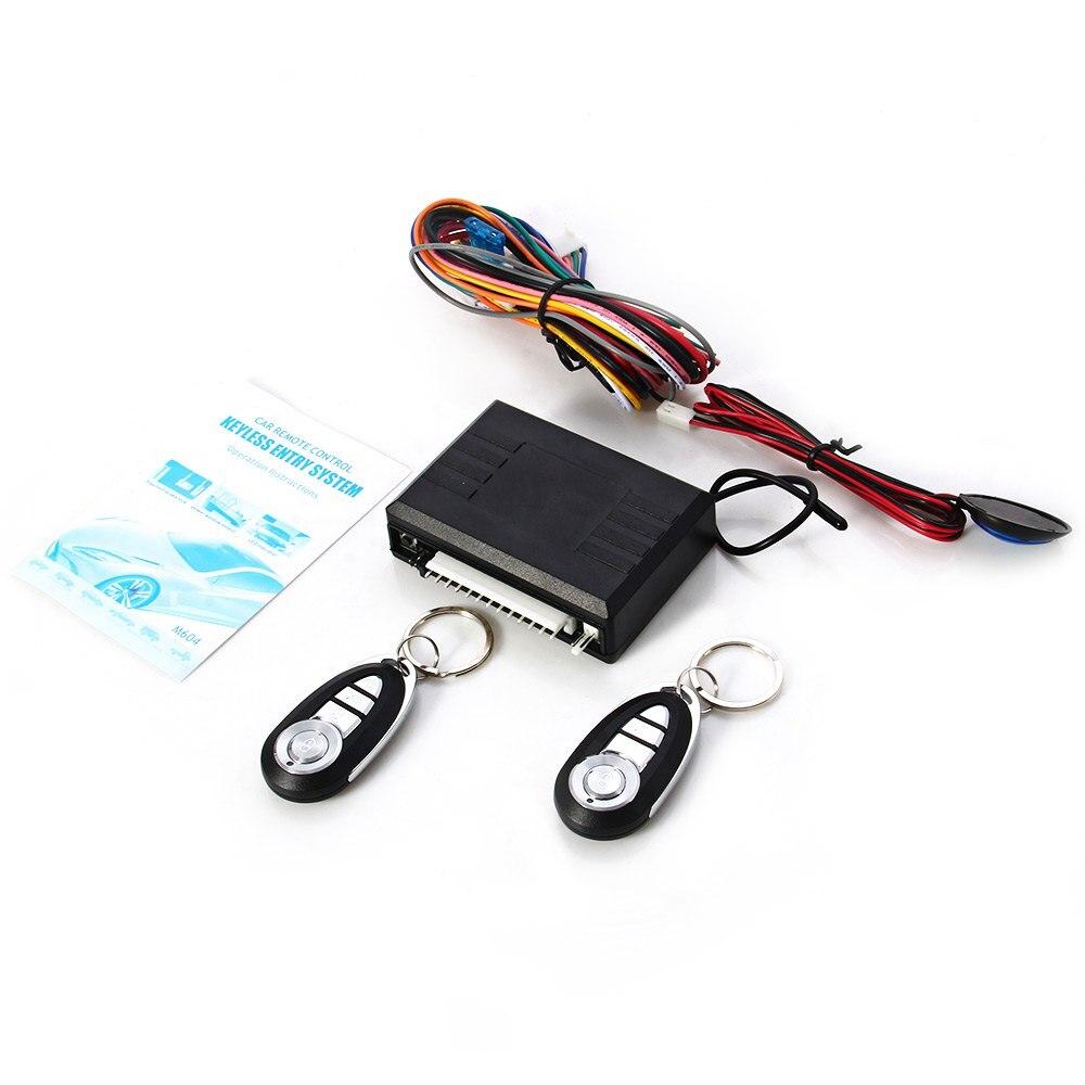 imágenes para Lo nuevo 8150 Universal 12 V Car Auto remoto Central Kit de bloqueo de bloqueo de puerta del vehículo sistema de entrada sin llave nueva con mandos a distancia