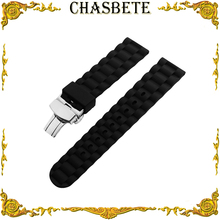 22mm 24mm Silicone Rubber Watch Band for Fossil Watchband Me