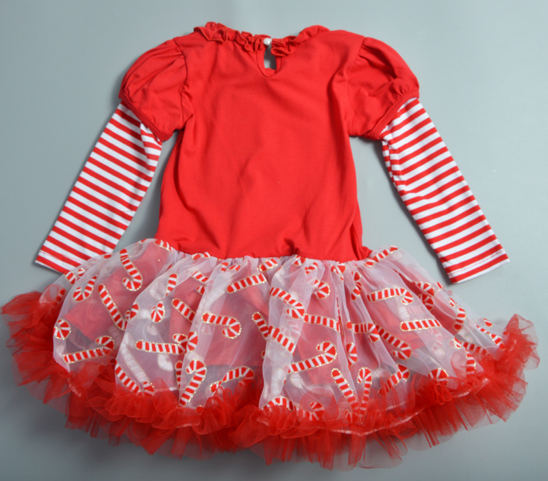 44c21adc7 Christmas Girls Clothes I Love Santa Design Mesh tutu Dress+Legging 2pcs  Kids girl set New Year Tracksuits Children Costume A036-in Clothing Sets  from ...