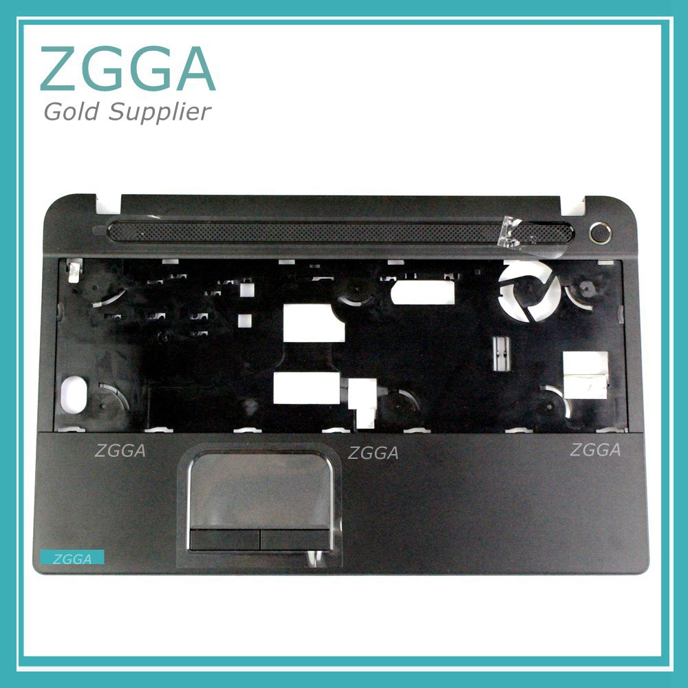 GENUINE Laptop Palmrest NEW For Toshiba Satellite C50 C55 C55t C55t-A Upper Case Keyboard Bezel Shell Replacement V000320130 new russian for hp envy x2 11 g000 g003tu tpn p104 hstnn ib4c c shell ru laptop keyboard with a bottom shell
