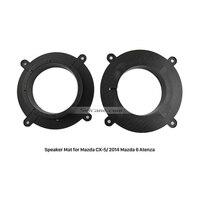 Nice Car Speaker Spacer For Mazda CX 5 2014 Mazda 6 Atenza Pads Mats Adaptor Holder