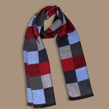 Hot Sale Acne Studios Chic Brand Cashmere Scarf Men Pattern Casual Echarpe Hiver Male Business Tartan Sjaal YJWD646