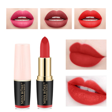 6 Colors Matte Lipsticks Waterproof sexy Lipstick Cosmetic Easy to Wear Batom Makeup