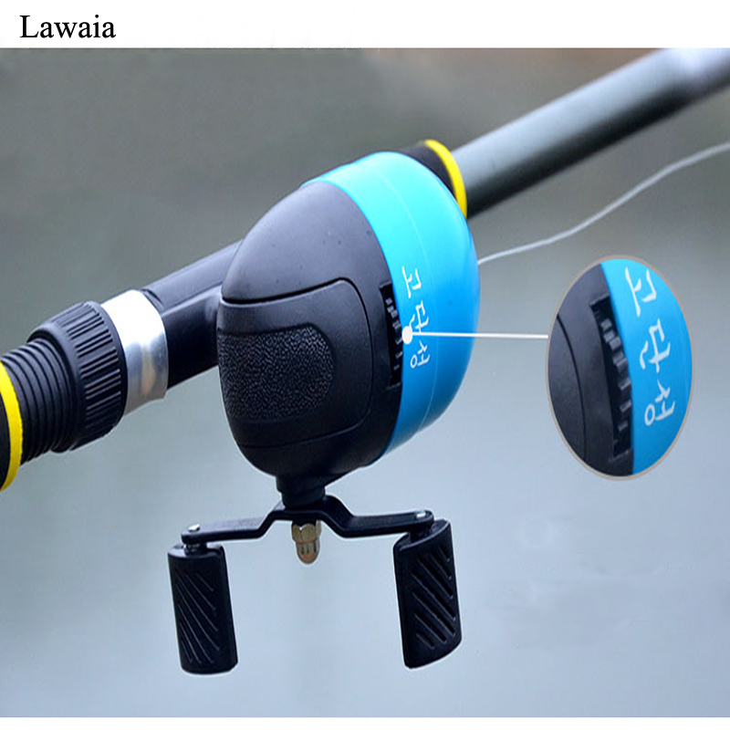 Lawaia New Spinning Reel Fish Inner Line Wheel Casting Inner Line Round Fishing Reel Useful For Beginners Fishing Accessories