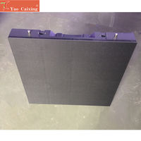 500*500mm P4.81 indoor rgb full color die casting aluminum cabinet led display dot matrix smd rent screen hub75 led video wall