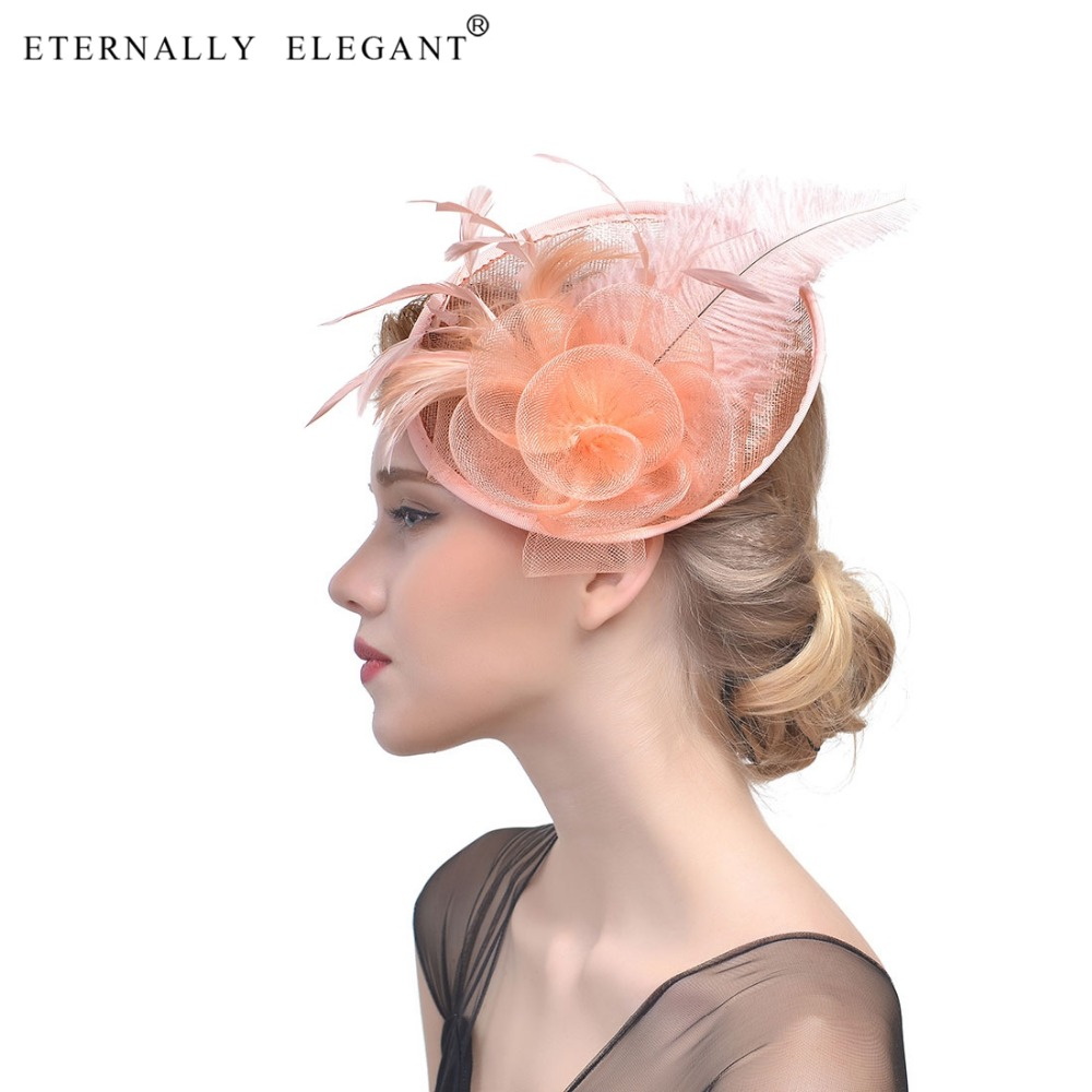 Top Quality Fascinator Feathers Headpiece Great Gatsby Vintage