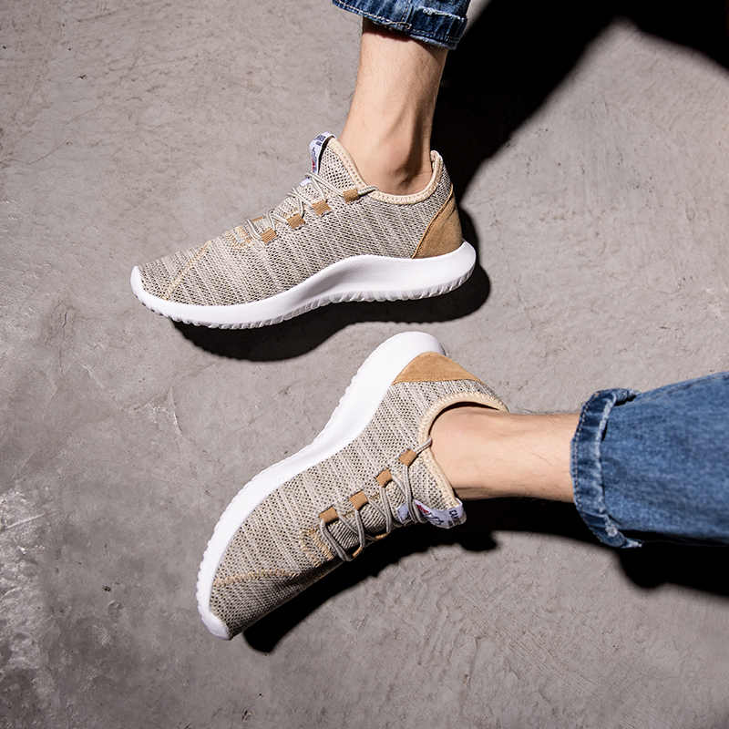 Повседневная мужская обувь из дышащего сетчатого материала; Легкая летняя уличная спортивная обувь; удобные баскетбольные кроссовки; Homme Chaussure Sport Homme