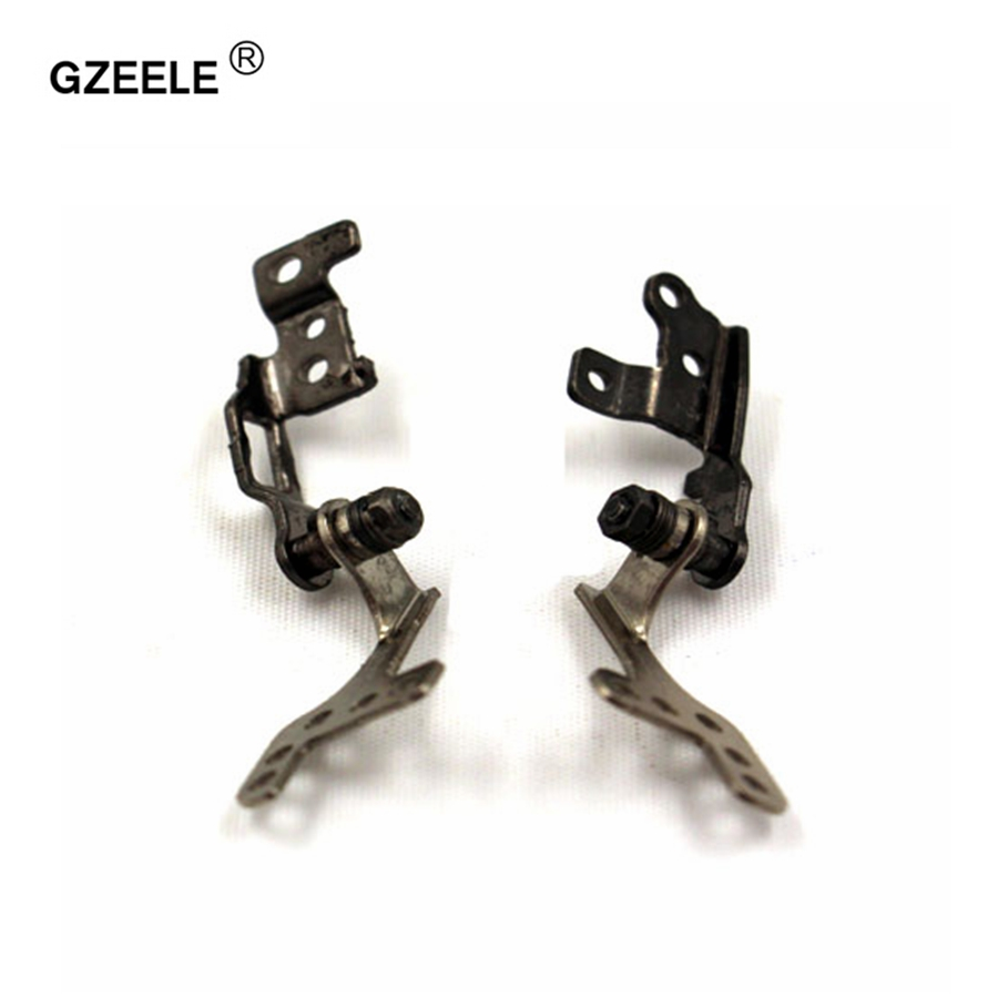 GZEELE New Hinges For ACER One D270 D257 For Gateway LT28 LT40 PN: FBZE6003010 FBZE6004010 Notebook Left&Right LCD Laptop Hinges