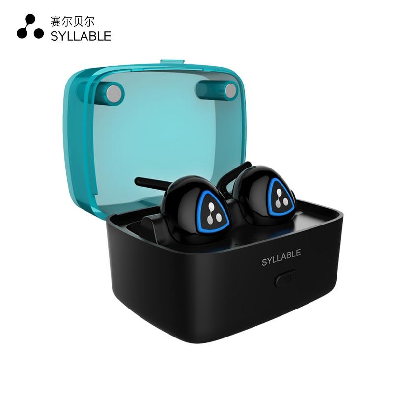 SYLLABE D900S intra-auriculaires Sans Fil Écouteurs Sport Stéréo Bluetooth Casque Portable Mini Écouteurs fone de ouvido avec Micro Mains Libres