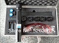 Фокус высокой мощности синий лазерный указатель 500000 МВт 500 Вт 450nm горящая спичка/сухая древесина/свечи/черный, сжечь сигареты бесплатная доставка