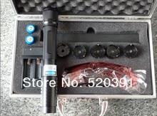 High Power Blue Laser Pointers 500000mw 500w 450nm Flashlight Lazer Torch Burning Match/Dry Wood/Candle/Black,Burn Cigarettes