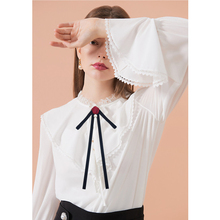 European Style bowtie Wedding Party Polyester rose bowknot Women Bow Tie Classic Neck Wear Ribbon bowties Shirt Accessories