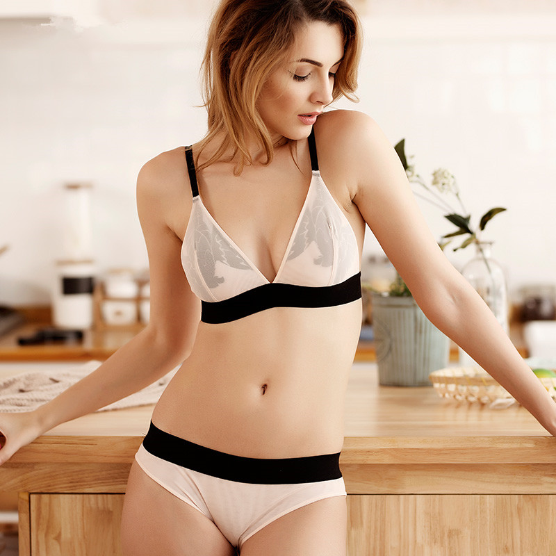 CINOON Žensko seksi donje rublje grudnjak vezenje donjeg rublja set - Donje rublje - Foto 4