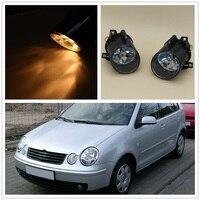 For VW Polo 9N MK4 2001 2002 2003 2004 Polo Sedan 2004 2005 2006 Car styling High Quality Halogen Front Fog Light Fog Lamp