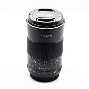 Image 4 - Kaxinda 25 ミリメートルF0.95 標準マニュアルプライムレンズキヤノン、ソニー、富士フイルムオリンパスパナソニックミラーレスカメラ大口径f/0.95