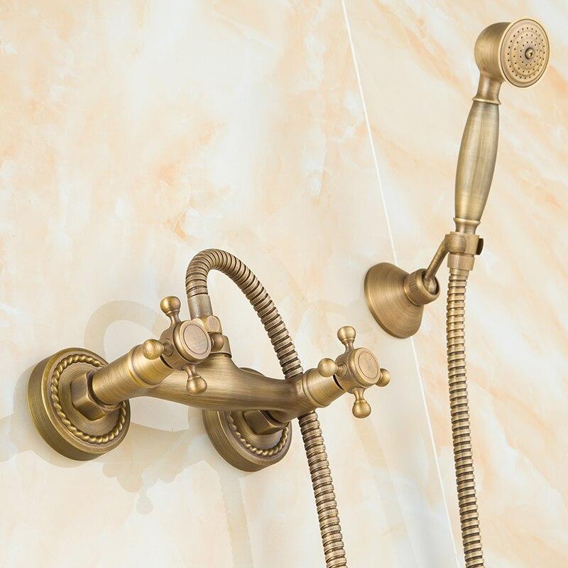 Dofaso Retro Telephone Hand Shower And Oill Rubbed Telephone Shower Heads(China  (Mainland)