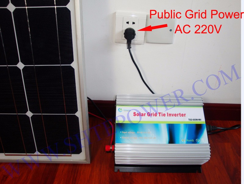 1000w New Micro Grid Tie Inverter For Solar Home System MPPT Function DC 12V AC 220V Pure Sine Wave Inverter dc house usa uk stock 300w off grid solar system kits new 100w solar module 12v home 20a controller 1000w inverter