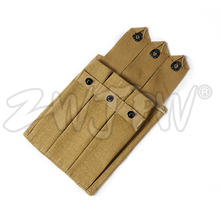 Reproduction WW2 NOUS ARMÉE Militaire Thompson 3 Cellules Magazine Pouch Mag Sac Kaki US/41555(China)