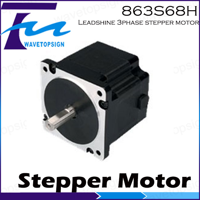 Leadshine 3 phase   Stepper  Motor 863S68H/3phase step Motor /Laser engraver machine/Cnc Router leadshine 3 phase stepper motor 863s68h 3phase step motor laser engraver machine cnc router