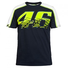 2016 Motorcycle casual T-shirt 46 Valentino Rossi VR46 Moto GP Monza Cotton T-shirt Blue