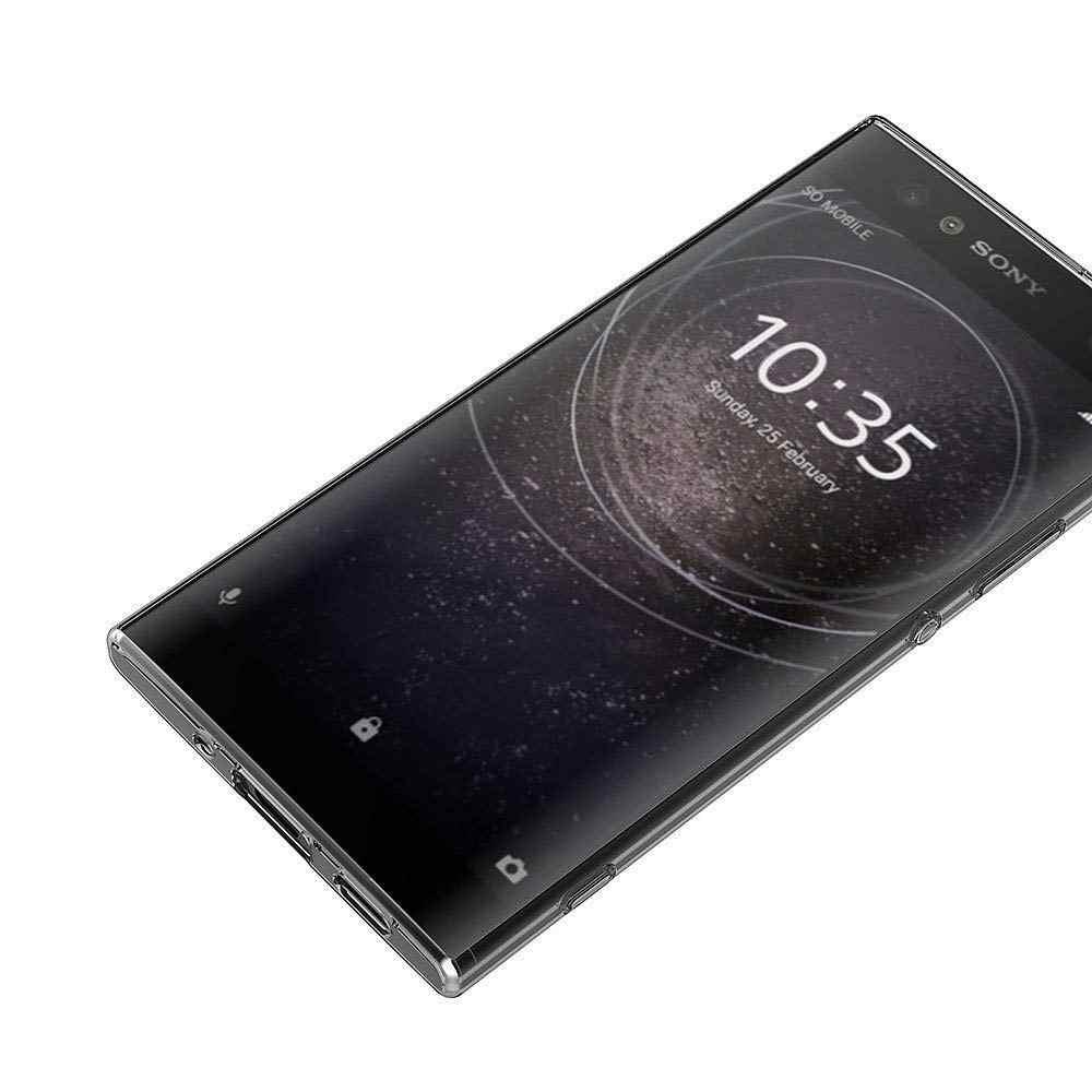 TPU Silicone Trasparente Montato Cassa Molle Del Respingente per Sony Xperia L3 L2 L1 Z1 Z2 Z3 Z4 Z5 XZ XZP XZ1 XZ2 XZ3 XZ4 Trasparente Della Copertura Posteriore