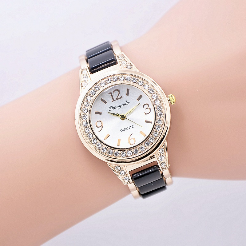 Relojes Mujer Fashion Women's Watches Girls Simulated-Ceramics Bracelet Band Clock Woman Lady Quarzt-watch Wrist Watch Women relojes mujer 2017 watch women clock fashion women s bracelet watch lady quartz wrist watch woman wristwatch relogio feminino