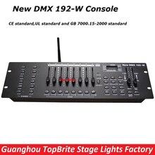 2017 Большая скидка высокое качество 2.4 г Беспроводной DMX контроллер Новый DMX 192-W консоль для сценического DJ лазерный луч света бесплатная Доставка