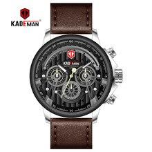 NEW 2019 Men Sport Watch TOP Brand KADEMAN Quartz Waterproof Military Army Wristwatch Male Leisure Clock Relogio Masculino