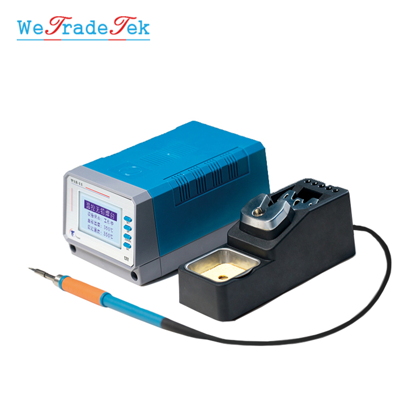 75W T12-11 Lead Free Soldering Station Intelligent Temperature Control 3 Seconds Fast Heating Auto Sleep BGA Rework Station