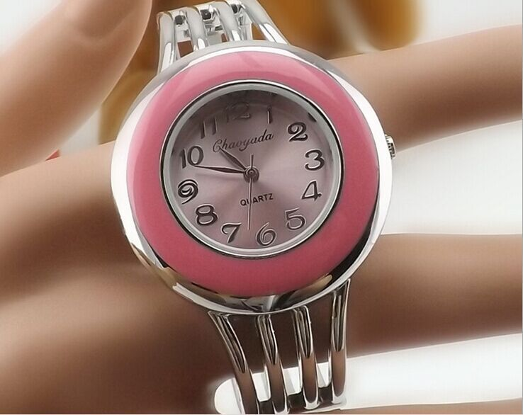 New Watches Women Fashion Casual Clock Silver Elegant Bracelet Watch Montre Femme Women s Wrist Quartz