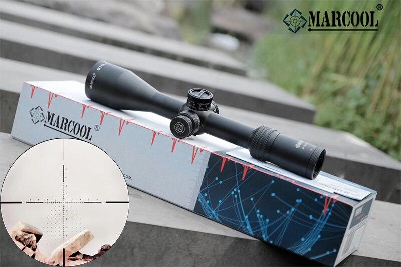 MARCOOL 3-18X50 viseur optique tactique dans la lunette de visée portée de fusil Sniper portée de chasse fusil à air comprimé lunette de visée extérieure réticule