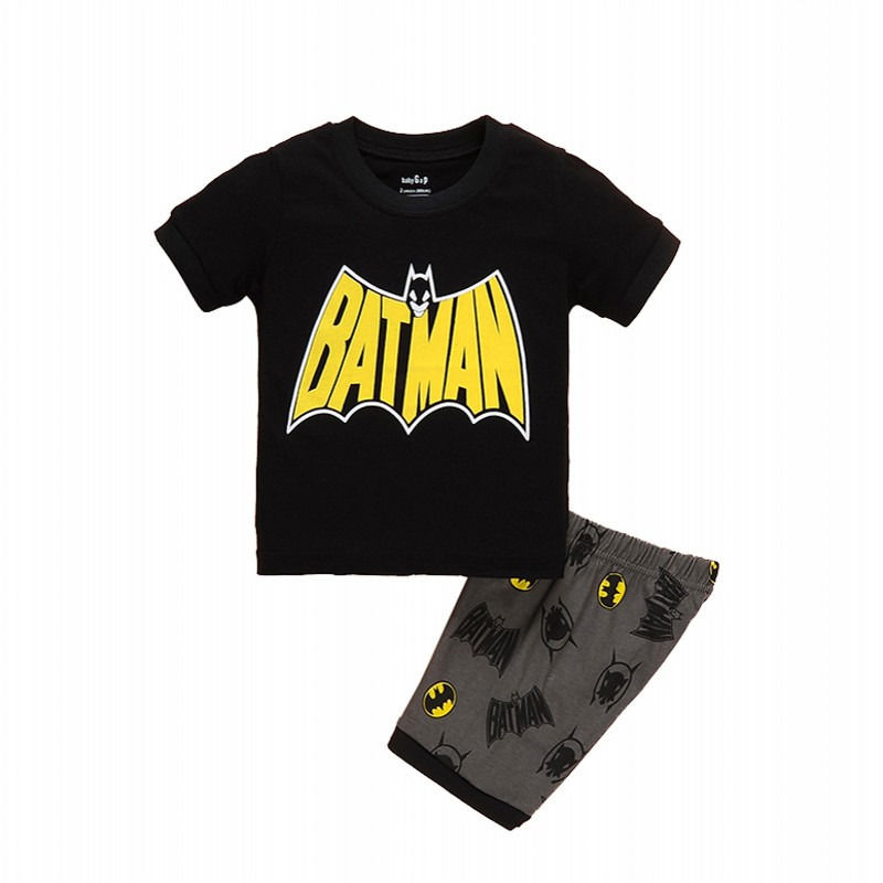 851e922de22 Summer Style 2016 New Kids Clothing Baby Boys Spiderman Batman Tops T shirt  Shorts Outfits 1 7T-in Clothing Sets from Mother   Kids on Aliexpress.com  ...