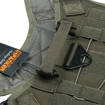 EXCELLENT ELITE SPANKER Tactical Battle Dog Clothes Suit Military Outdoor Training Molle Vest Harness Pets Hunting Accessories 4