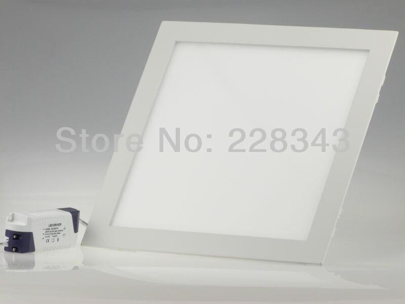 Ultrabright светодиодные лампы Светодиодная панель 20 Вт AC85-265V светильники освещения дома теплый белый/белый