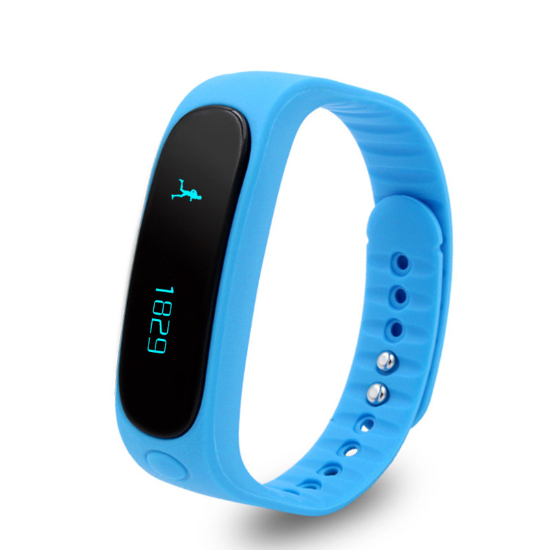 E02 Smartband Health fitness tracker Sport Bracelet Waterproof Wristband for IOS Android Smart Band 4 0
