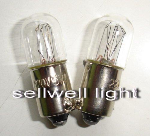Miniaturní lampa Ba9s T10 * 28 220v 5w