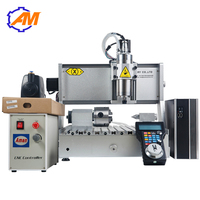 New product tabletop cnc milling machine 4 axis cnc router 3040 for metal aluminium PCB