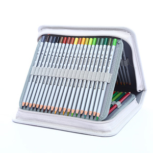 Image 5 - School Pencil Case 120/168/216 Holes Pencilcase Profession Pen Box Penal for Kid Colourful Art Bag Large Storage Pouch Penalties