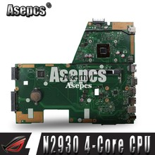 Asepcs X551MA Laptop motherboard for ASUS X551MA X551M X551 F551MA D550M Test original mainboard N2930 4-Core CPU(China)